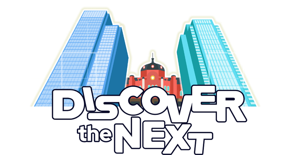 DISCOVER the NEXT ロゴ